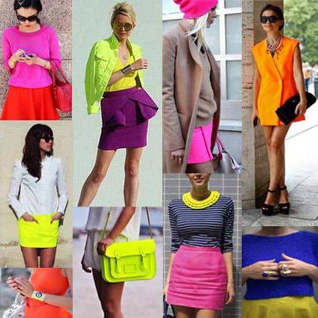 cores neon
