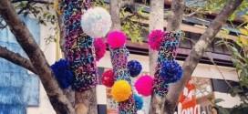 Leti Matos: Pompons, tricô e crochê invadem as ruas