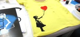 Para fazer: camiseta estampada em casa com stencil
