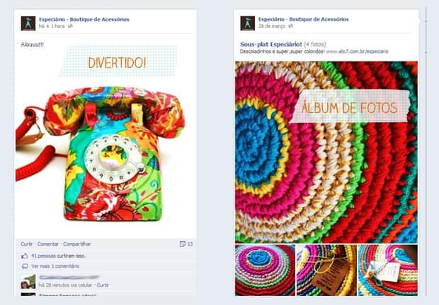 Facebook: especiário