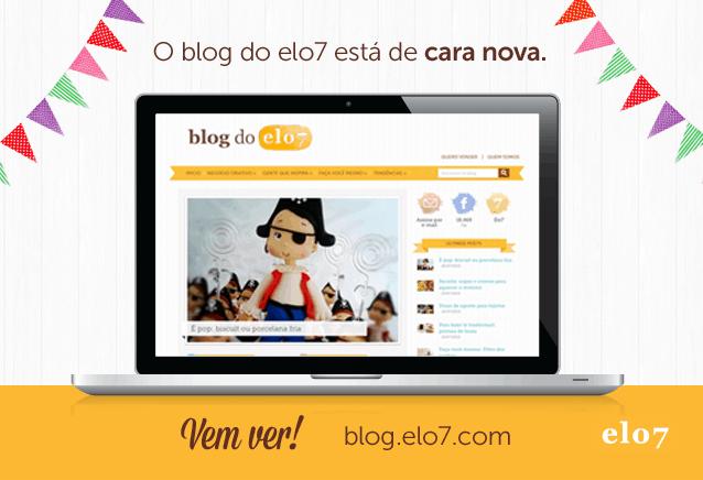 Blog do Elo7 de cara nova
