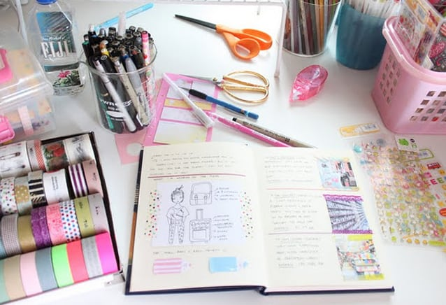 Ateliê, craft room ou home office: organize!
