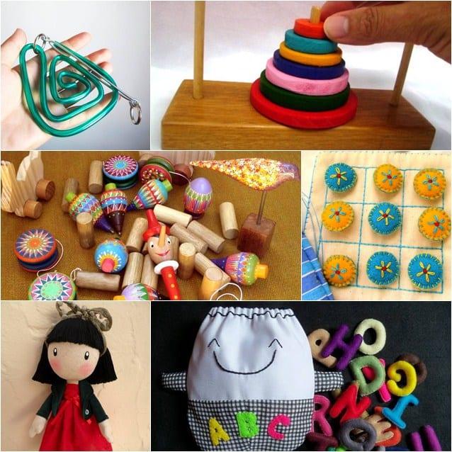 Seleção de produtos Dia das Crianças