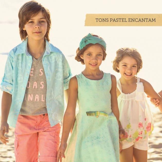 0c316fd986 A moda infantil recebe influência das passarelas e das tendências de rua  assim como a moda adulta. Os pequenos modelos também podem desfrutar de  peças com ...