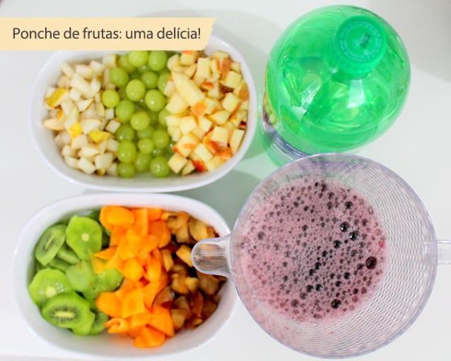 ponche de frutas