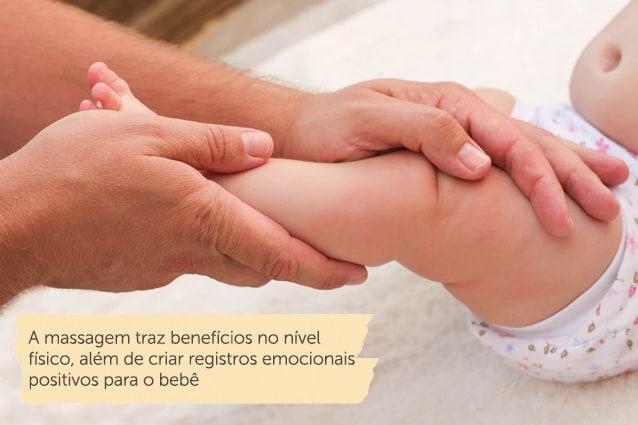 masseur doing massage for foot little baby