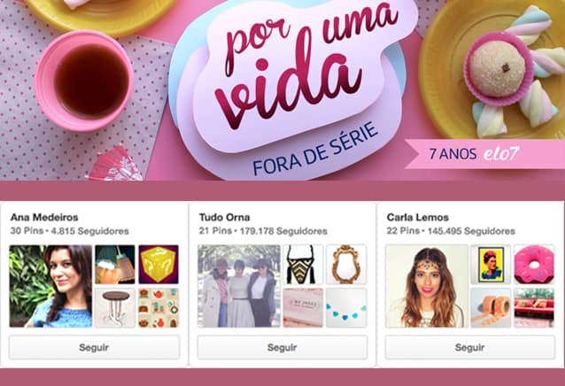 ação no pinterest