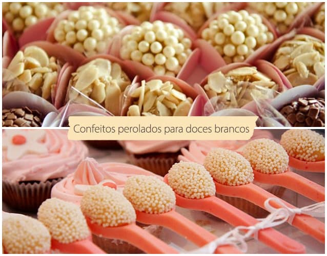confeitos para doces de festa