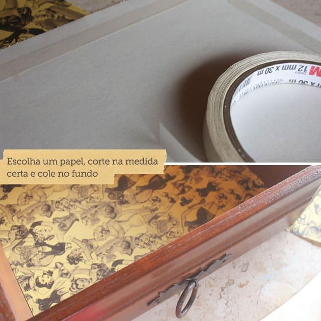 reaproveitamento de gaveta e cápsulas de café