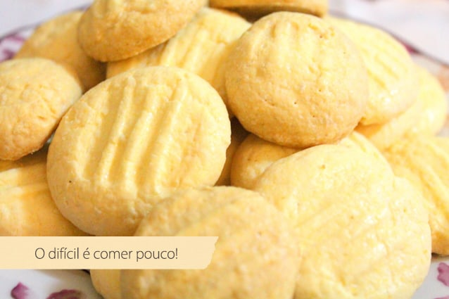 Receita de biscoito sem glúten