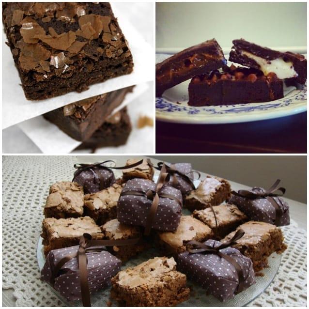 brownies como lembrancinhas