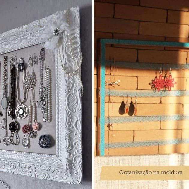 4 ideias de porta-bijuteria