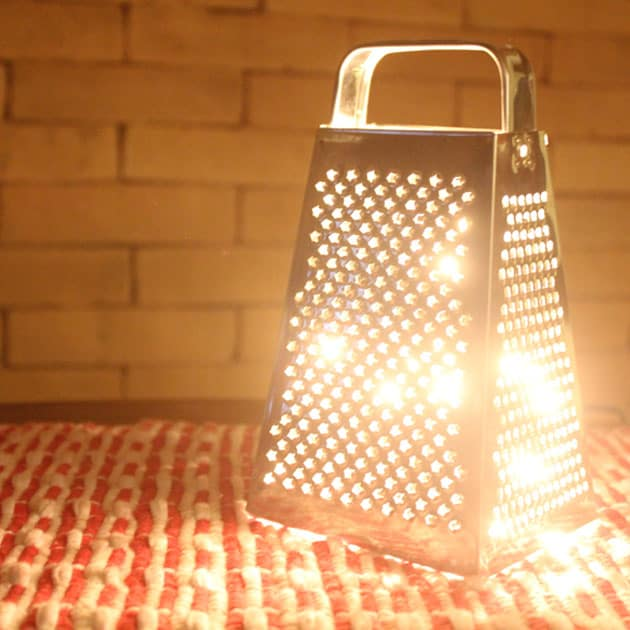 luminárias criativas com reaproveitamento