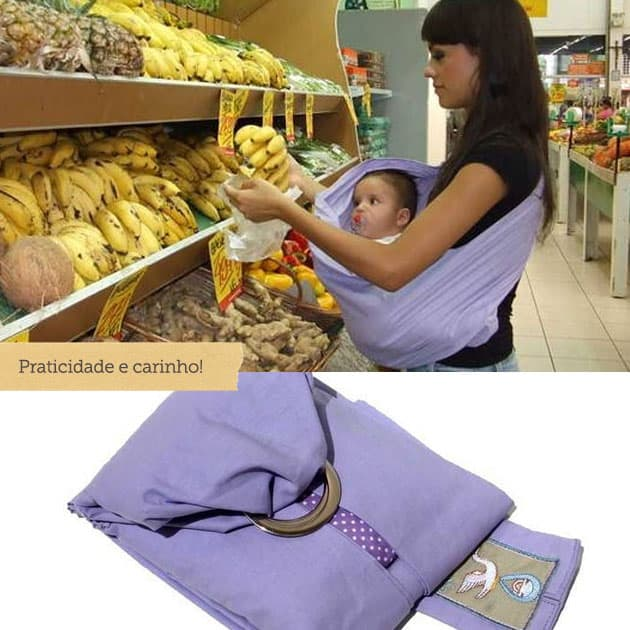 sling para carregar bebês