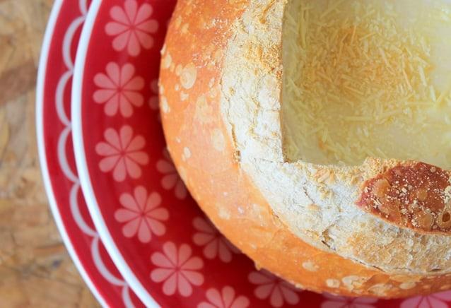 creme de queijo no pão italiano2