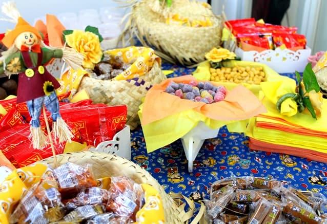 como organizar uma festa junina em casa