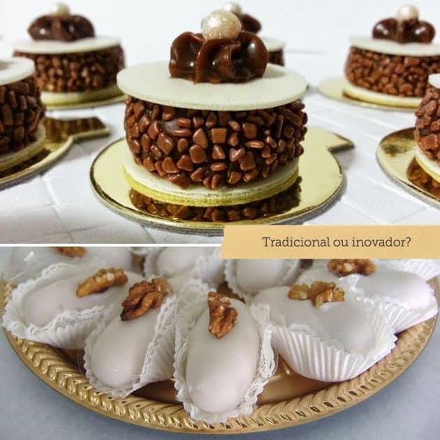 doces de festa de casamento