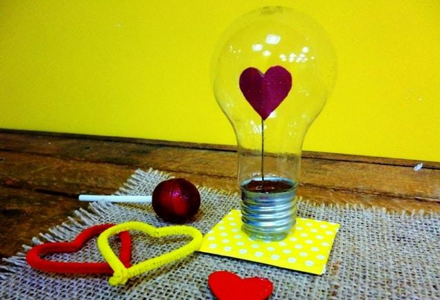lâmpada do amor