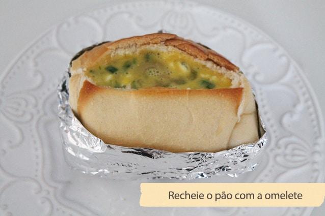 pão assado com omelete3