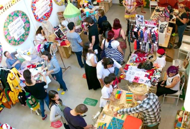 Experiências em bazares : Dicas de lojistas