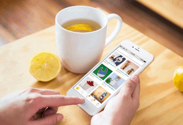 Aplicativo Elo7 para compradores
