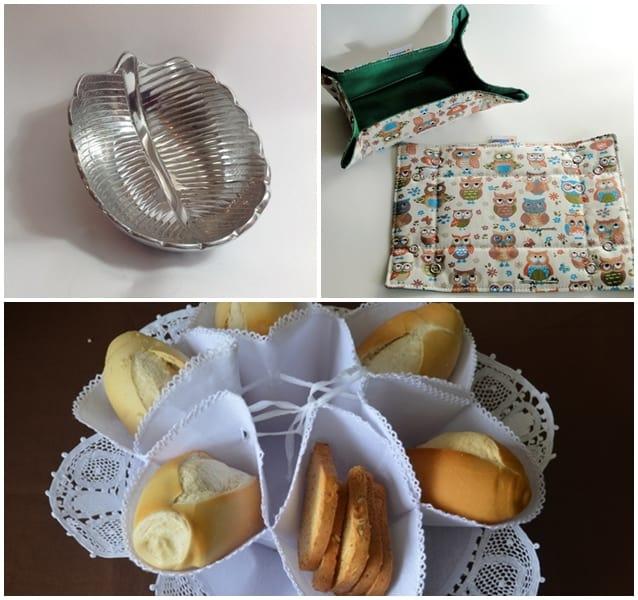 petisqueira feita com prato descartável