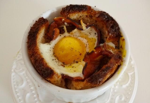 café da manhã no ramequin
