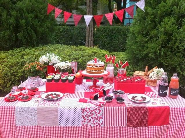 Como organizar uma festa piquenique