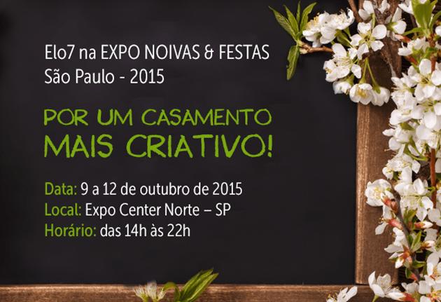 Venha nos visitar no Expo Noivas 2015