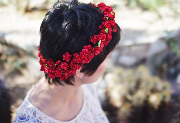 coroa flores titulo