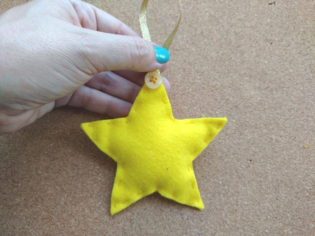 estrela feltro finalizada