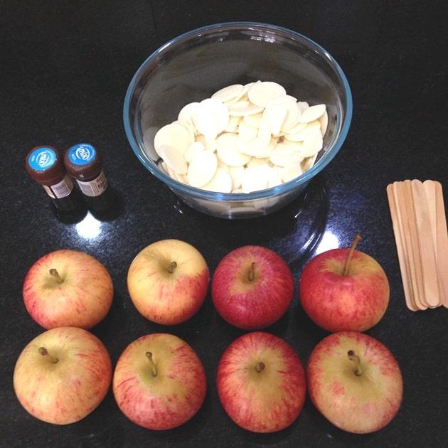 maçã do amor