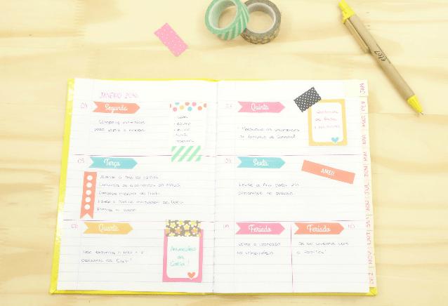 Planner: Agenda organizadora