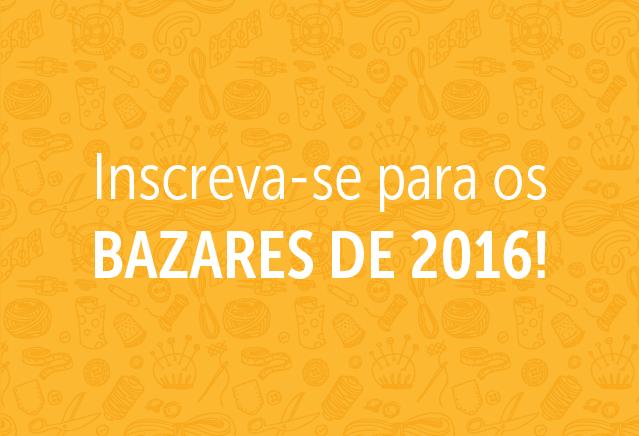 Bazares Fora de Série Elo7 2016