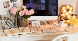 mesa do escritório