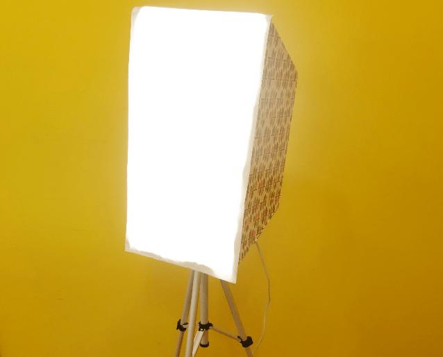 Softbox para fotografia: faça você mesmo