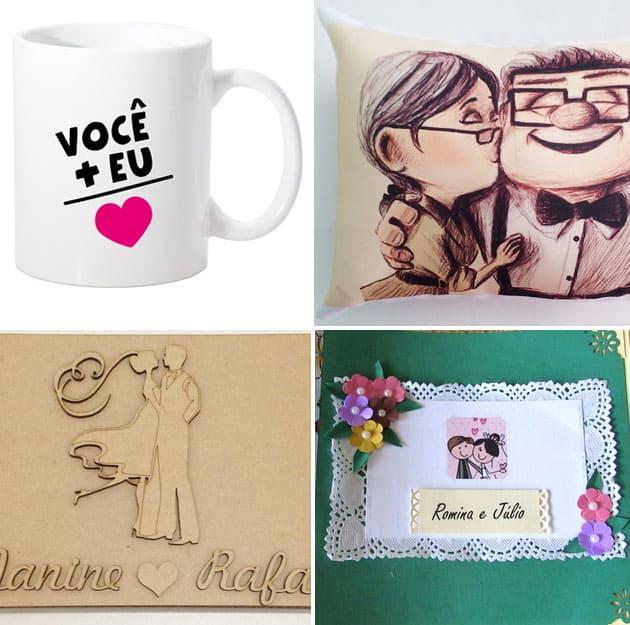 presentes para aniversário de namoro