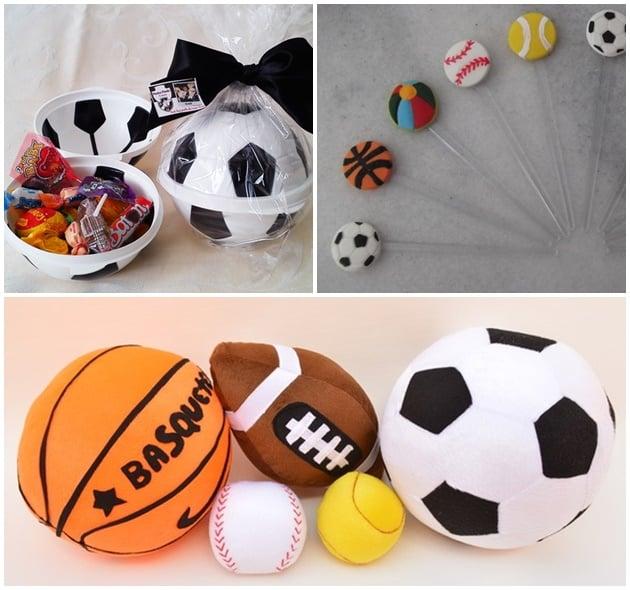 festa bolas esportivas ---