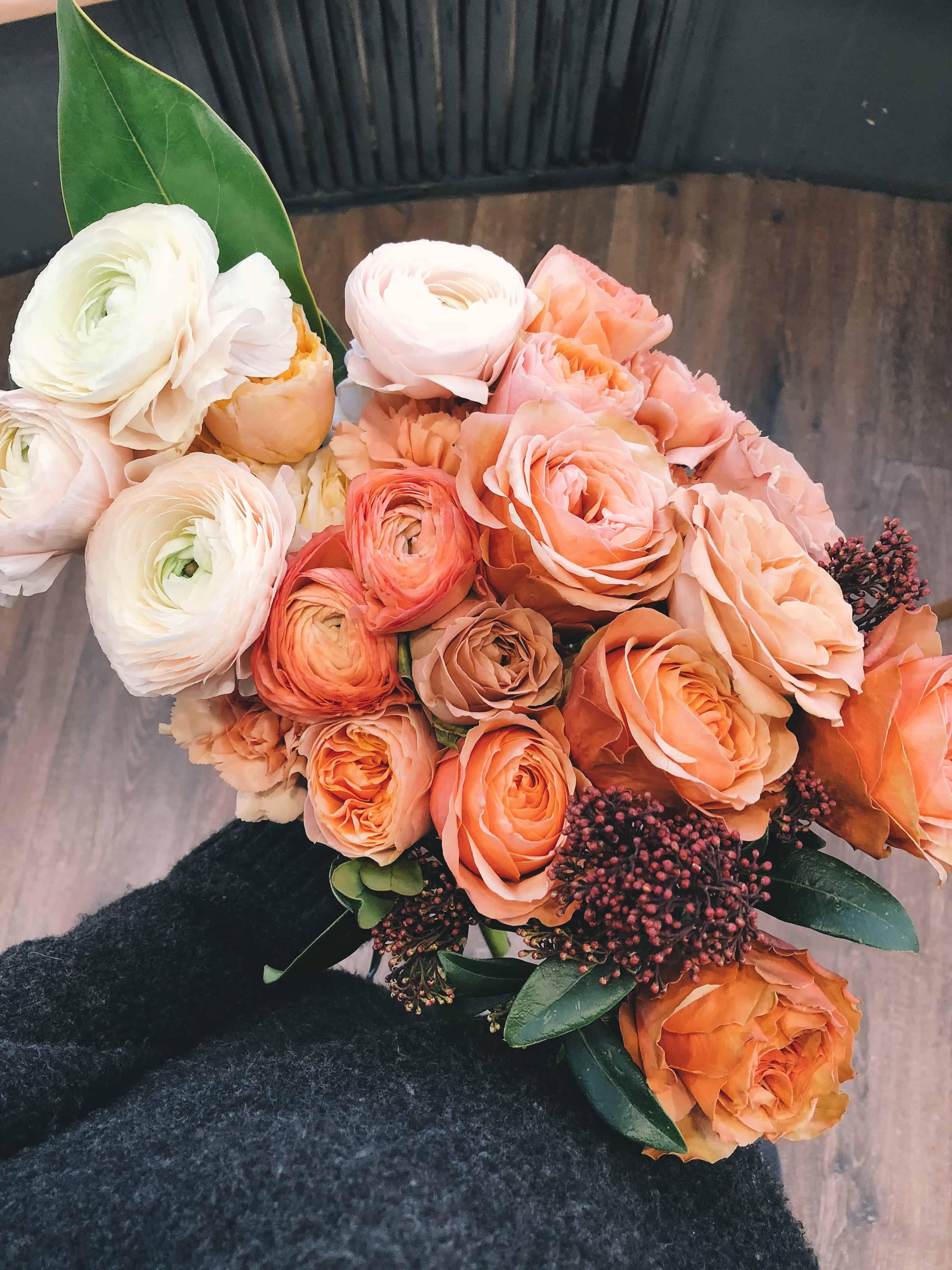 casamento, flores, organização