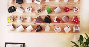 canecas na decoração coleção