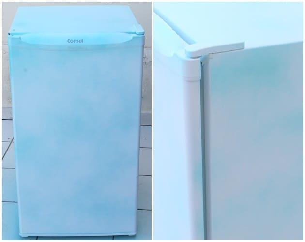 como pintar geladeira passo a passo