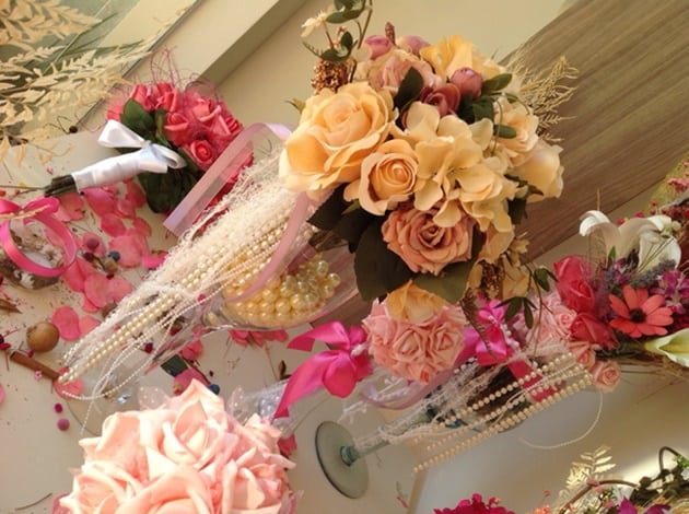 flores para casamento arranjos