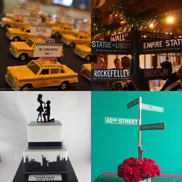 casamento inspirado em cidades nova york