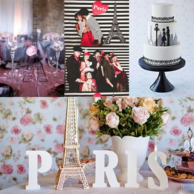 casamento inspirado em cidades paris