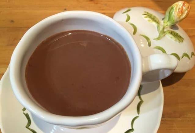 chocolate quente junino receita