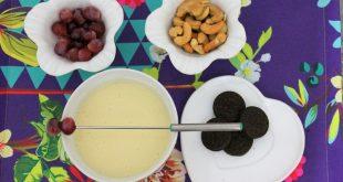 fondue de chocolate branco receita