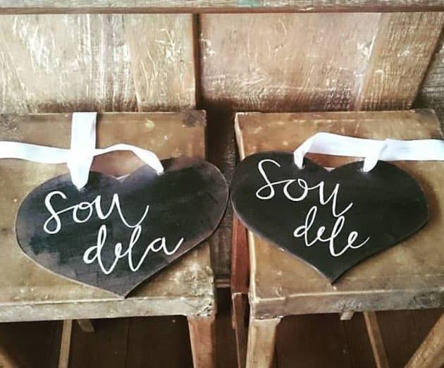 placas de casamento 2