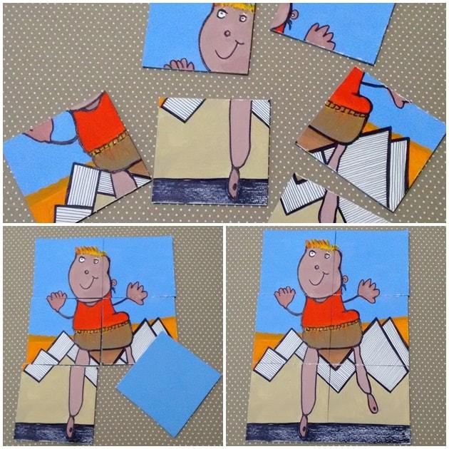 desafio de desenho infantil quebra cabeça esdras
