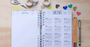 Organize o seu ano