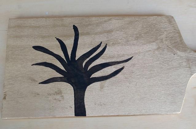 árvore feita com contas 2